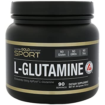 California Gold Nutrition, L-Glutamine Powder, AjiPure, 16 oz (454 g