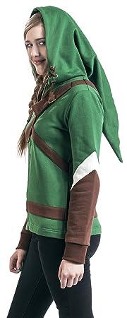 The Legend of Zelda Cosplay Zip-Hoodie Chaqueta con capucha Mujer ...