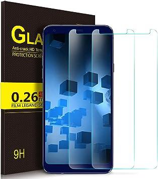 Kugi LG Q7,Q7 Plus,Q7α,LG Style L-03K Protector de Pantalla ...