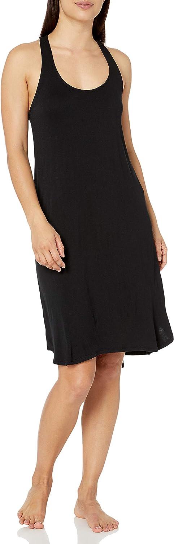 Amazon Brand - Mae Women's Sleepwear Long Racerback Nightgown