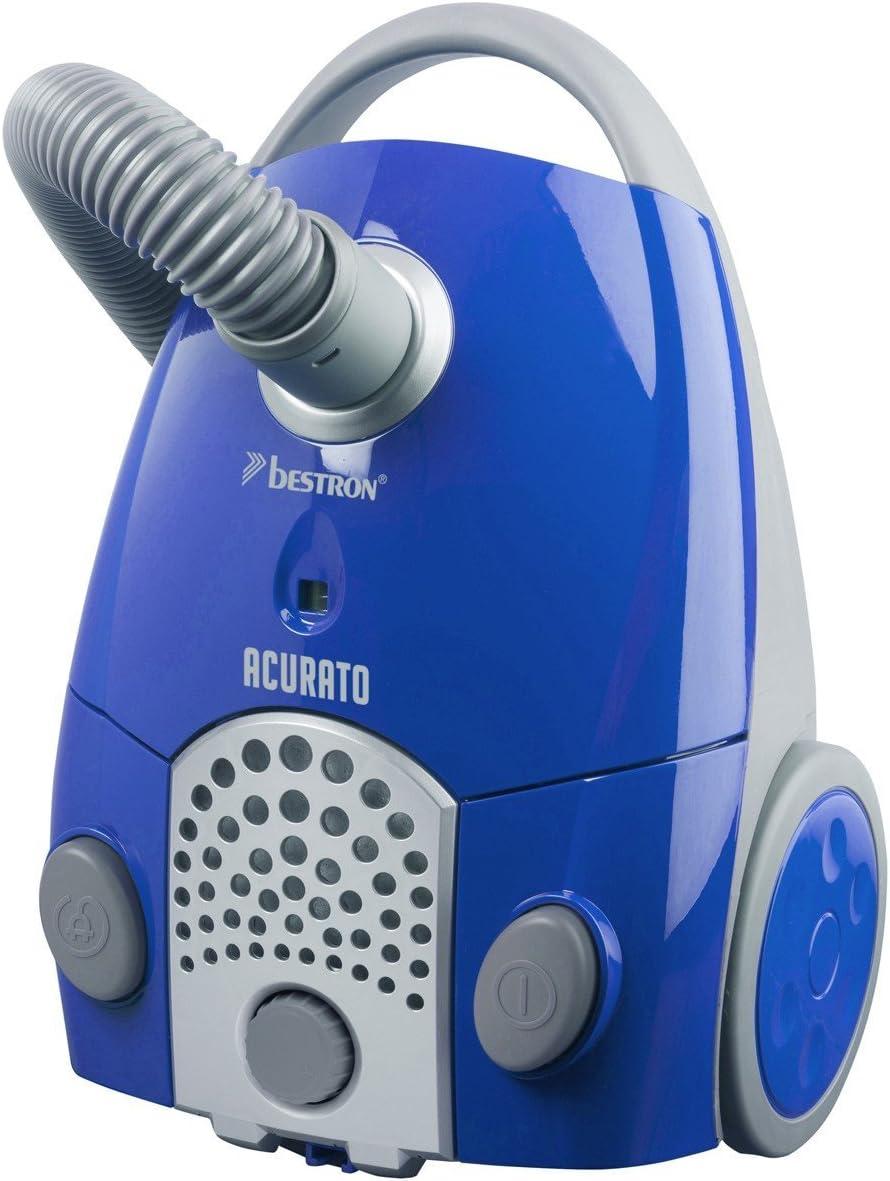 Bestron ACURATO 1100 W - Aspiradora (1100 W, Aspiradora cilíndrica, Secar, Bolsa para el polvo, 1,3 L, Micro): Amazon.es: Hogar