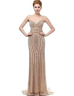 Amazoncom Sarahbridal Womens Crystal Beaded Prom Dresses Long
