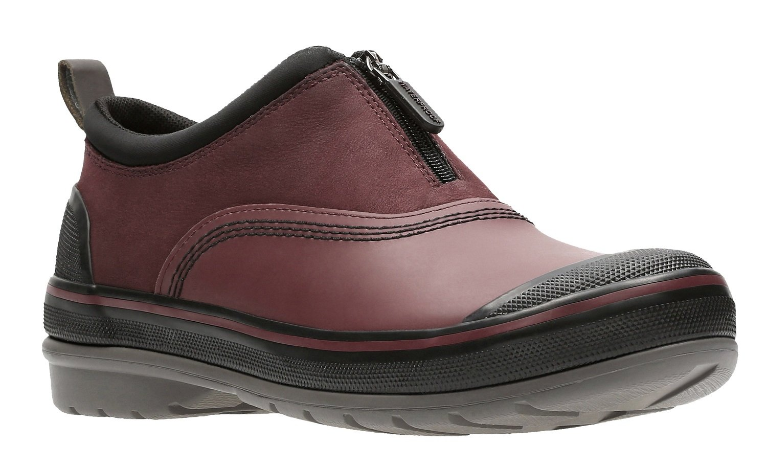 CLARKS Women's Muckers Trail Rain Shoe B071ZRL9ZV 6 B(M) US|Burgundy