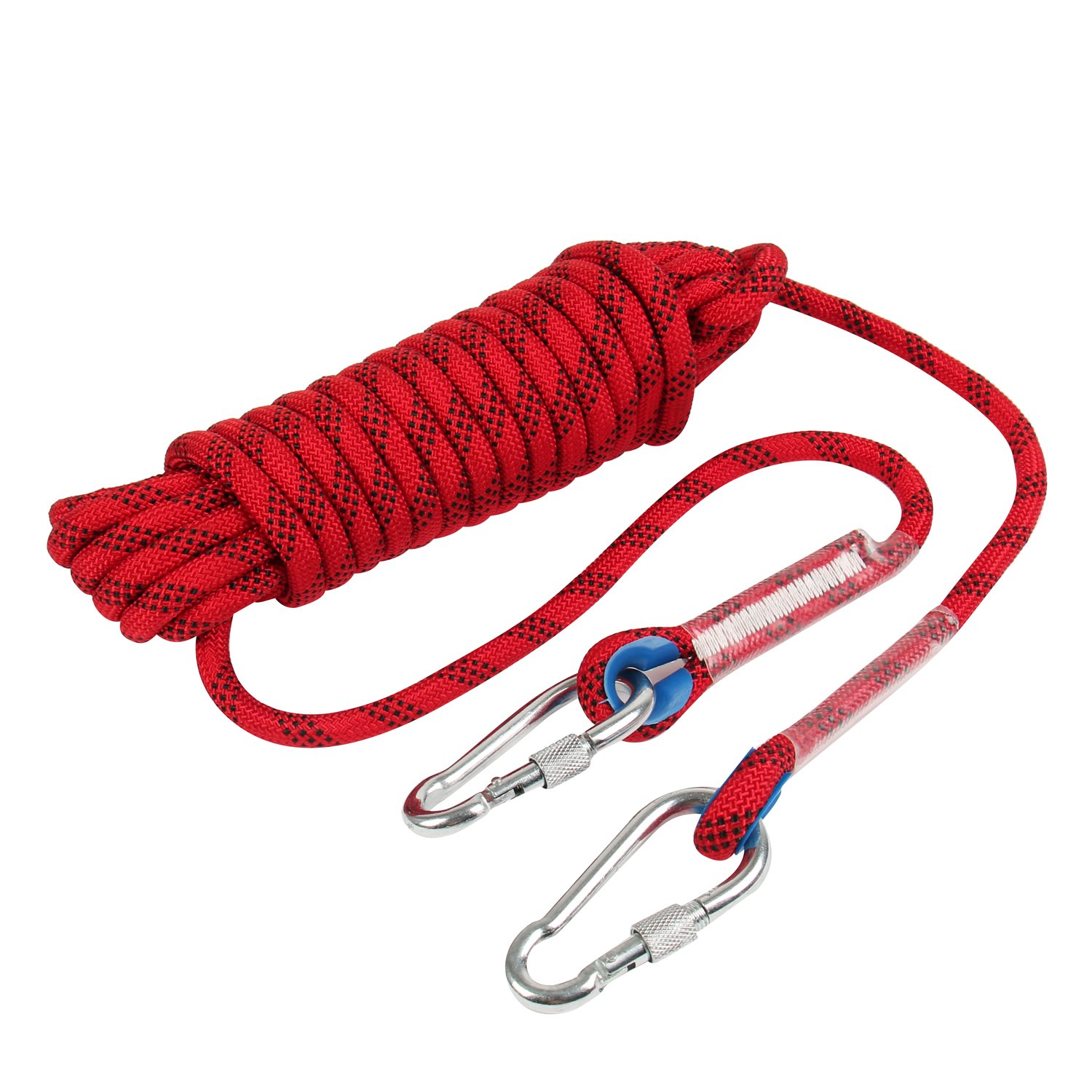 HonYan 10M(33ft) 12mm Outdoor Climbing Rope Escape Rope Climbing Equipment Fire Rescue Parachute Rope
