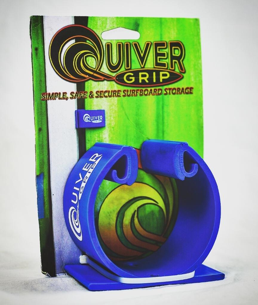 Quiver Grip B075G1W7LP Grip Quiver シンプル安全サーフボードストレージホルダーラック B075G1W7LP, 斜里町:42f8105a --- ijpba.info