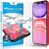 Power Theory for iPhone 11/iPhone XR Screen Protector Tempered Glass [2-Pack] with Easy Install Kit [Case Friendly][6.1…