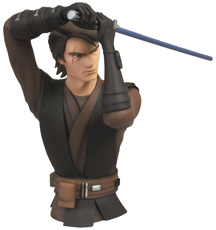 Anakin Skywalker Vinyl Bust Bank Diamond Select Toys Star Wars The Clone Wars