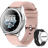 Smartwatch Pulsera Inteligente mujer,Reloj Deportivo Pantalla Táctil Completa ,Pulsera Deportiva Bluetooth,para Android…