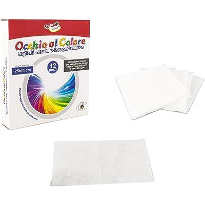 627326 Toallitas para la lavadora absorbe colores 12 piezas 25 x 11CM