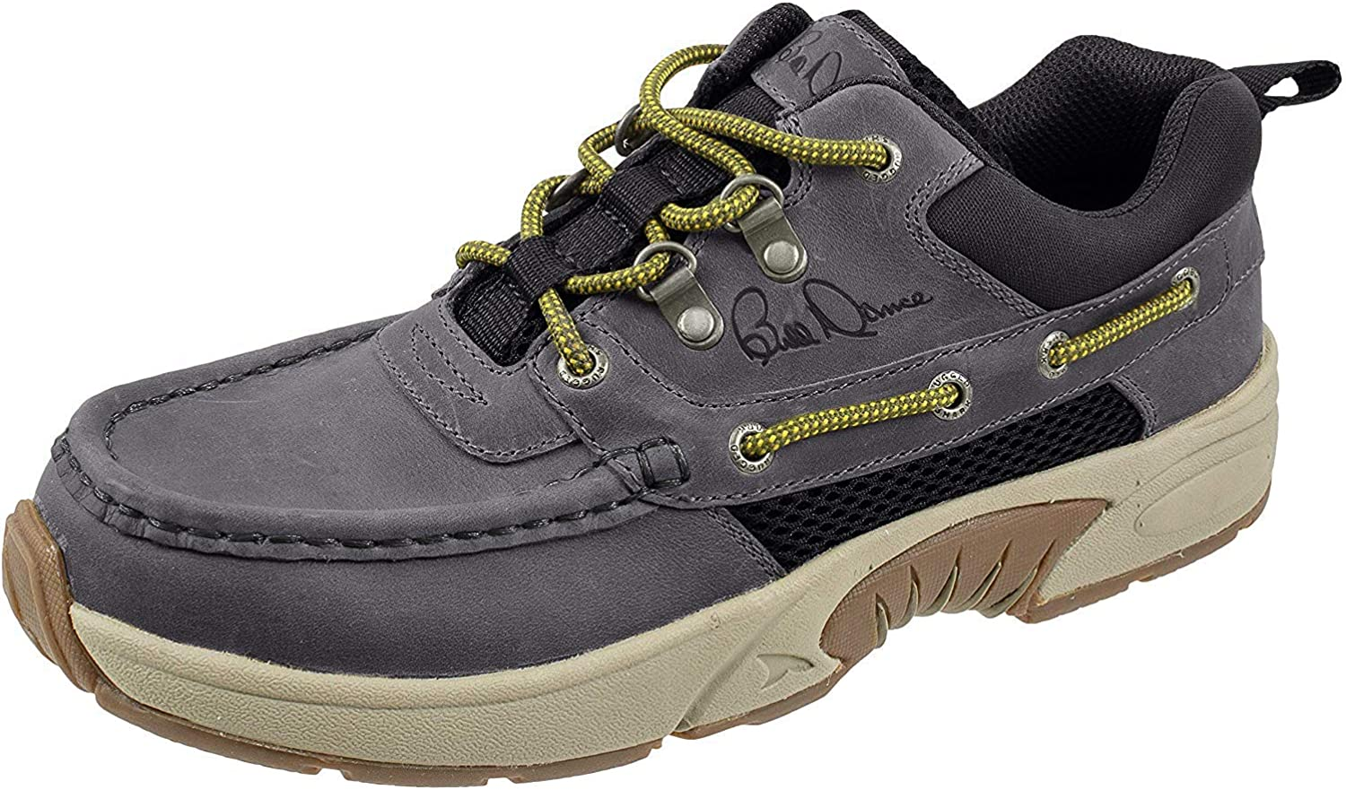Rugged Shark Bill Dance Pro Boat Shoe, Premium Leather and Comfort, Fishing and Outdoor Shoe, Men's Sizes 8 to 13