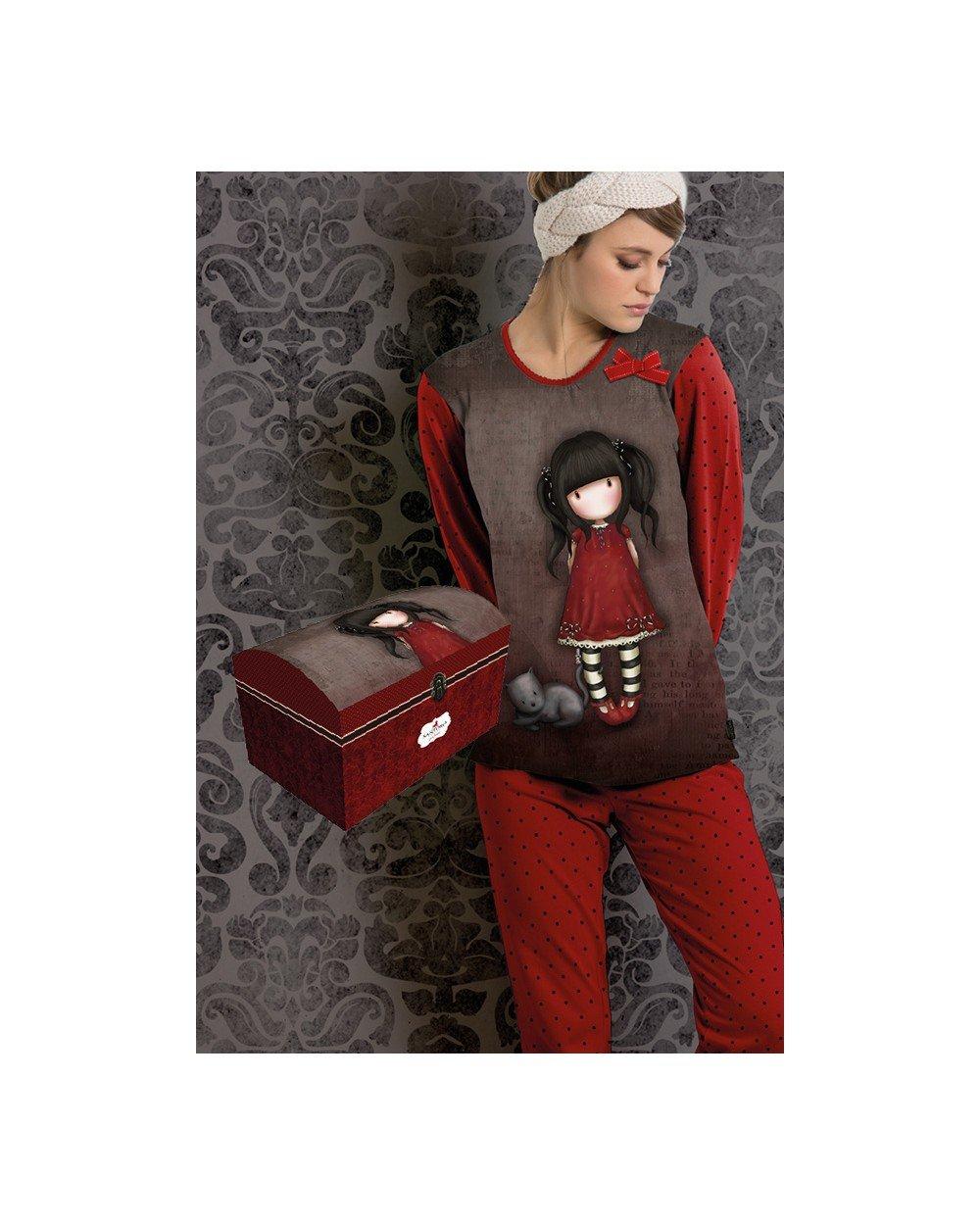 Pijama Mujer Gorjuss Invierno con Baúl - Ruby TALLA 16: Amazon.es: Juguetes y juegos