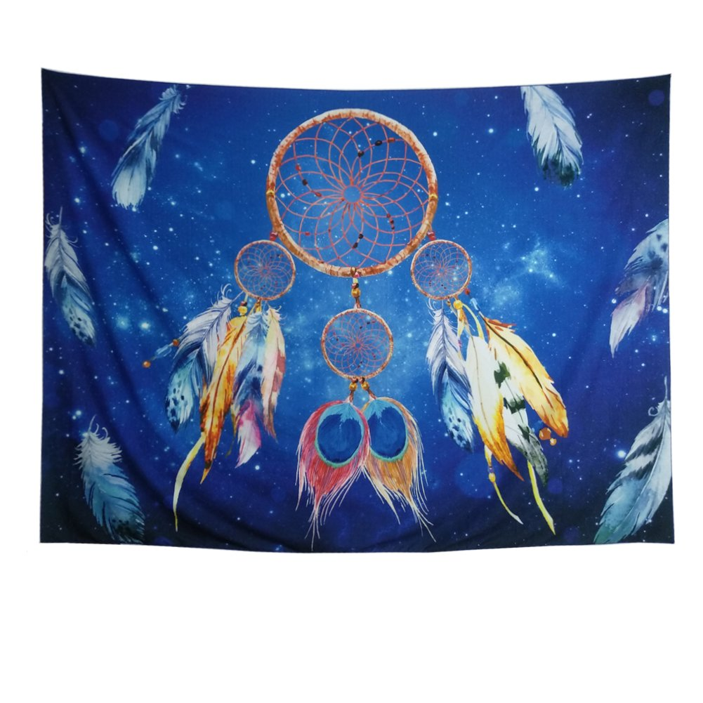 Dreamcatcher Tapestry Wall Hanging Dream Catcher Wall Tapestry Mandala Tapestry Bohemian Tapestry Psychedelic Tapestry Galaxy Tapestry Hippie Milky Way Tapestry Sky Tapestry for Bedroom Home Decor Heopapin