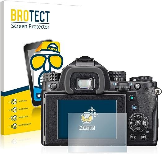 2x Protection Ecran pour Pentax Q10 Mat Film Protecteur Anti-Reflets