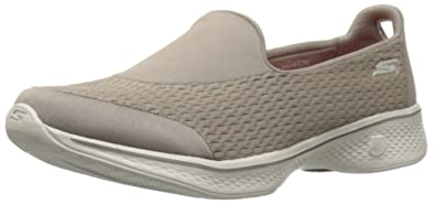 d5fe82923901f Skechers Women Go Walk 4 - Pursuit Slip On Trainers  Amazon.co.uk ...