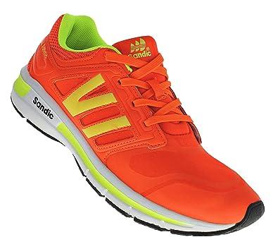9b09ae1c650109 Bootsland 142 Neon Turnschuhe Sneaker Sportschuhe Herren  Amazon.de ...