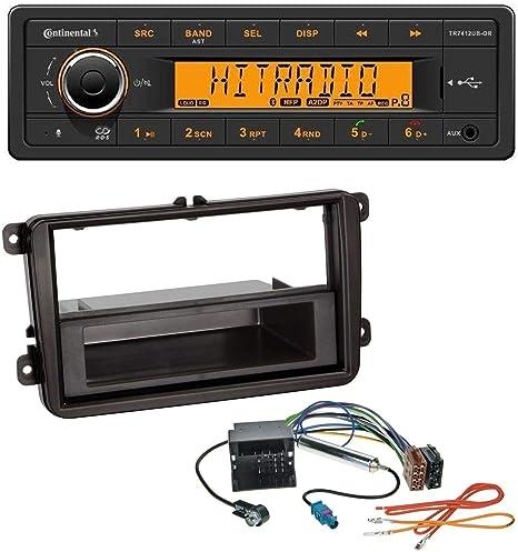 Continental Mp3 Usb Bluetooth Aux Autoradio Für Vw Golf Eos Jetta Scirocco Caddy Touran Tiguan Passat T5 Elektronik