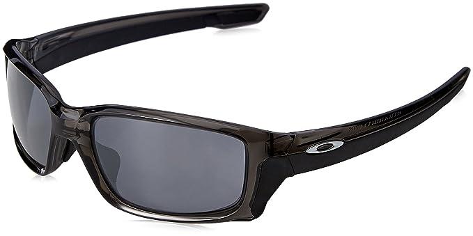 8686664c7c4ed Amazon.com  Oakley Men s Straightlink Sunglasses Grey Black  Clothing
