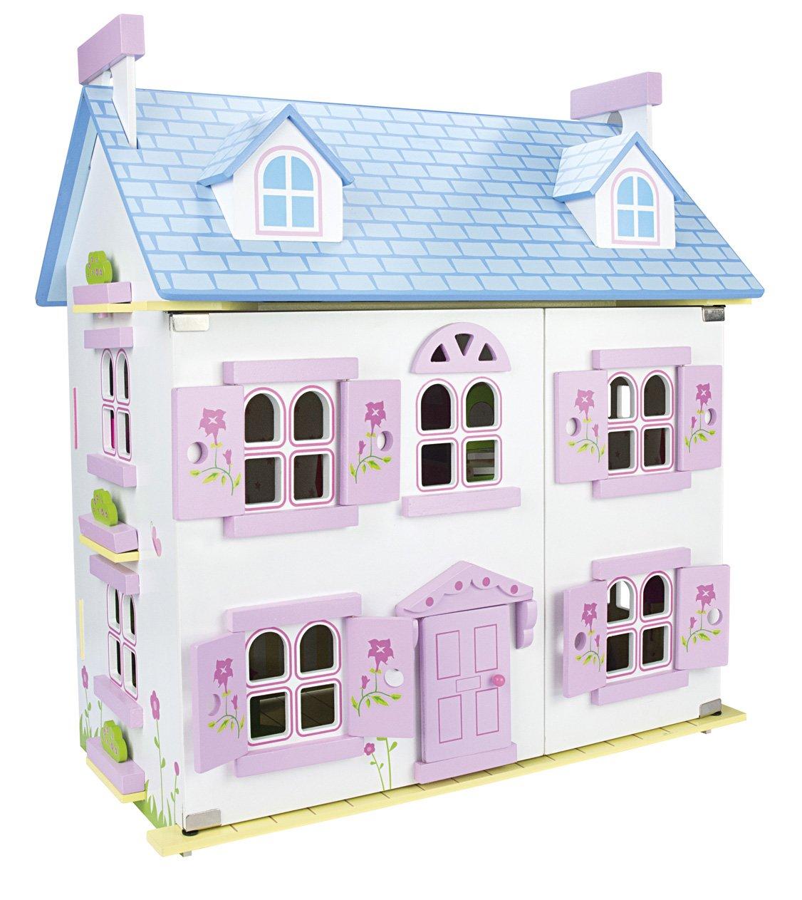 Le Toy Van Lavendel Haus Puppenhaus Holz