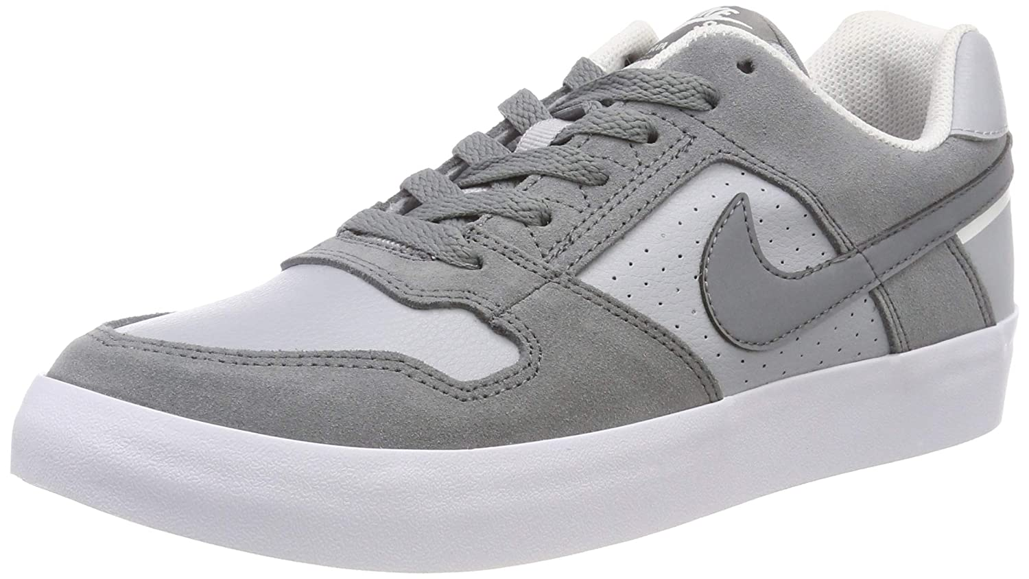 new styles 5419e fea0c Amazon.com  Nike Mens SB Delta Force Vulc Athletic  Sneakers Grey   Skateboarding