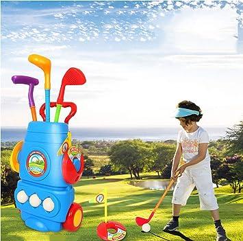 LY-LD Niños niño Golf Palos Conjunto, 3 Tipos de Clubes con ...