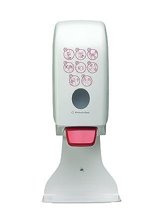 AQUARIUS* Dispensador de Higienizante de Manos 7124 - Blanco, 1 L