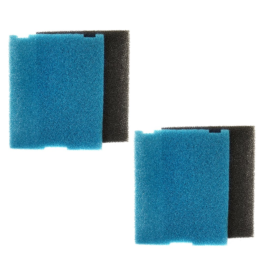 HQRP 2-Pack Submersible Pond Filter/Flat Box Filter Pads for Tetra SF1, FK5, FK6 Coaster