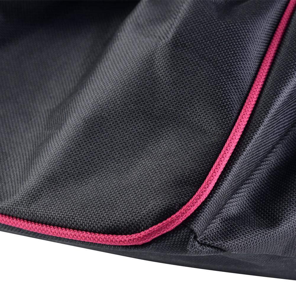 Black Waterproof Anti-dust Soft Winch Cover 8,000-17,500 lbs Capacity Trailer SUV Aramox Car Winch Cover