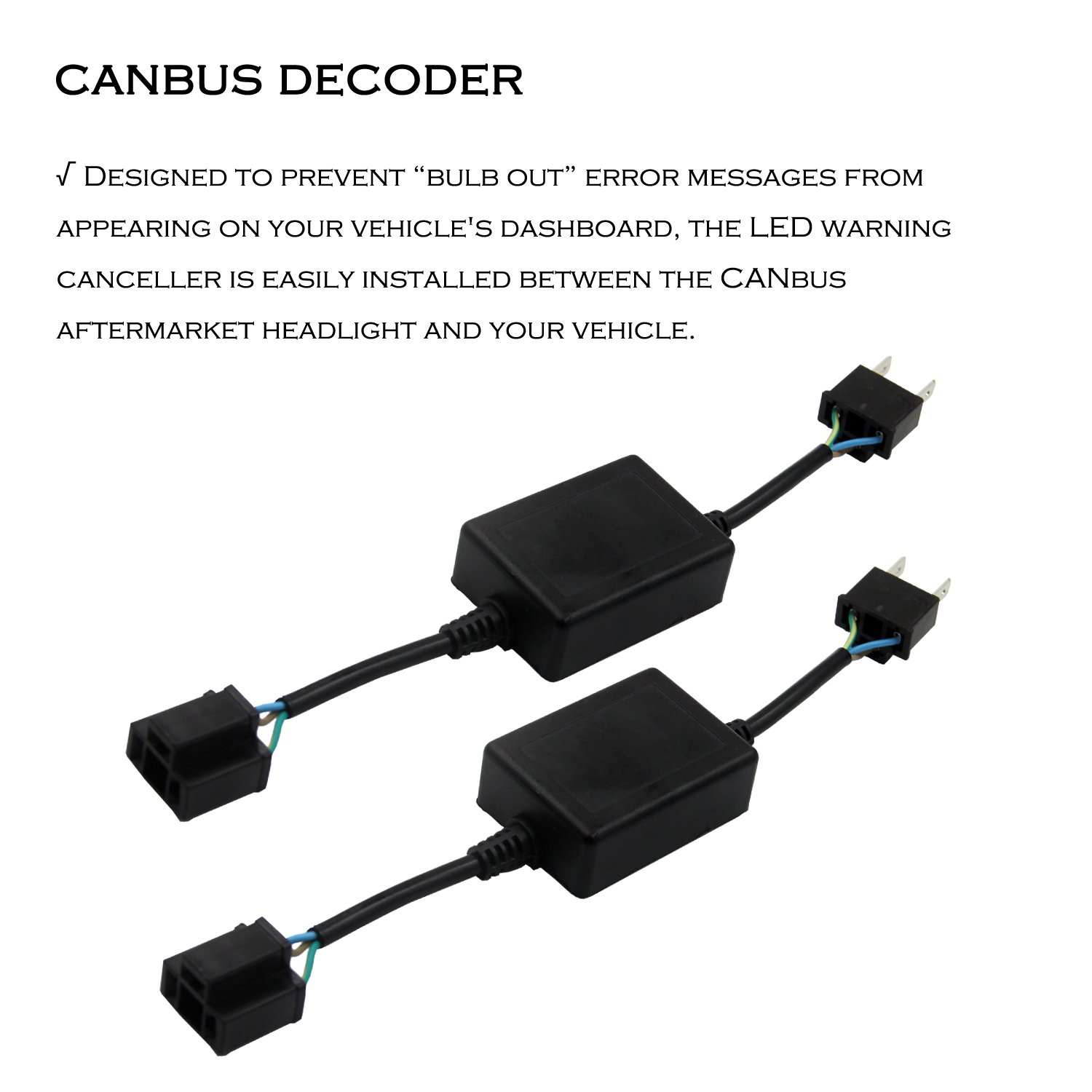 Huizen H4 9003 Hb2 Hi Lo Led Headlight Bulbs Vw Can Bus Decoder Wiring Diagram Conversion Kit Motorcycle W Canbus Free Philips Zes High Low Beam Fanless