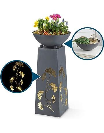 2er Set Untersetzer für Pflanzschale Blumen Pflanzen Kübel runde Töpfe Topf NEU
