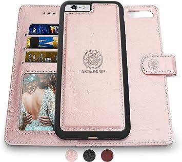 Shields Up Coque pour iPhone 6S / iPhone 6, [amovible] Étui portefeuille magnétique, durable et fin, léger avec emplacements pour cartes et billets, ...