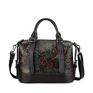 4041cfa95bef Hollday-store 2018 Genuine Leather Shell Women Handbag Embossed Shoulder Bag  Pillow Bag