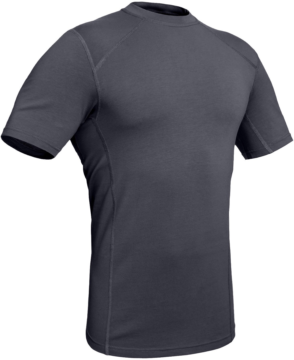 281Z Military Stretch Cotton Underwear T-Shirt - Tactical Hiking Outdoor - Punisher Combat Line (Graphite, XX-Large)