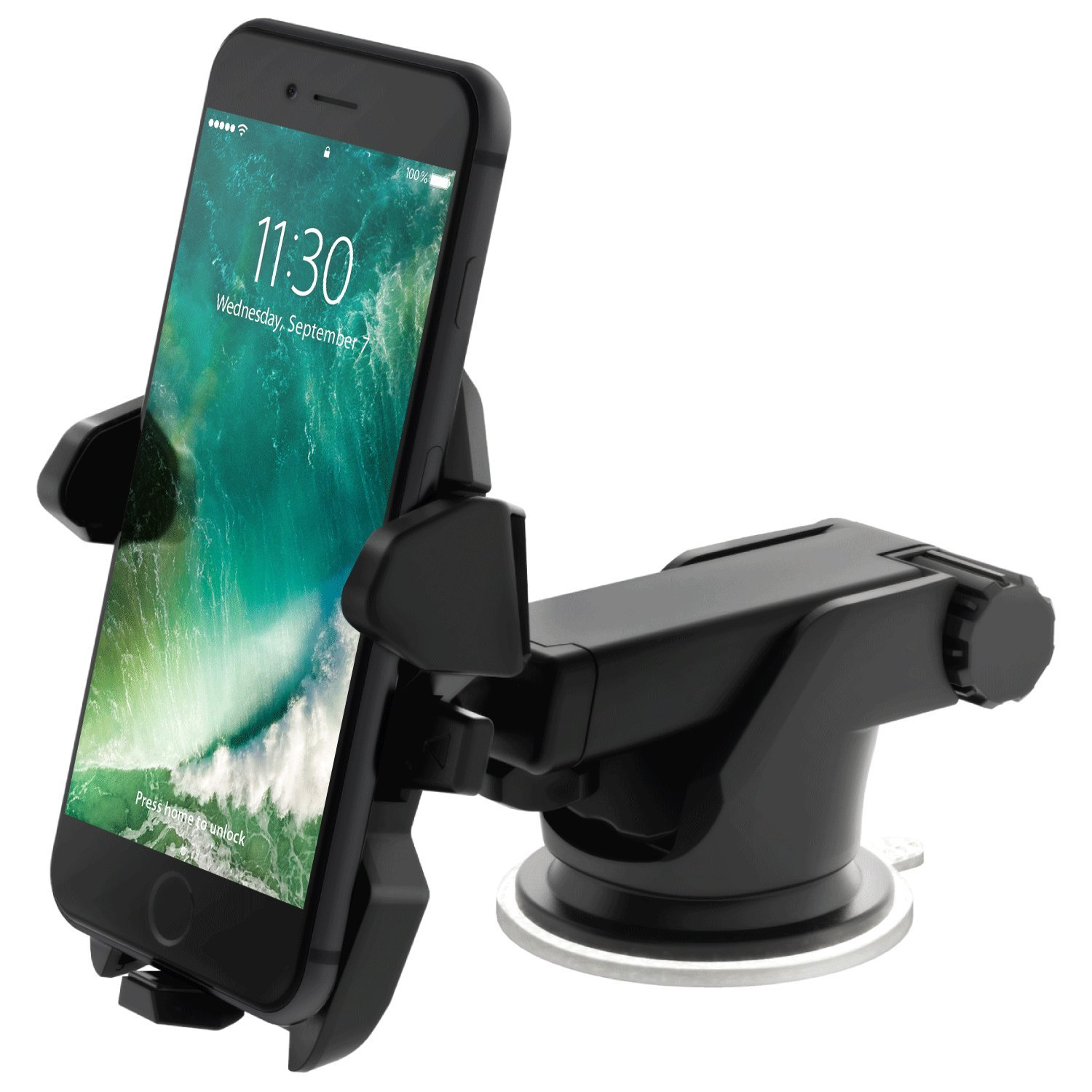 iOttie Easy One Touch 2 Car Mount Holder Universal Phone Compatible with iPhone XS Max R 8/8 Plus 7 7 Plus 6s Plus 6s 6 SE Samsung Galaxy S8 Plus S8 Edge S7 S6 Note 9 by iOttie