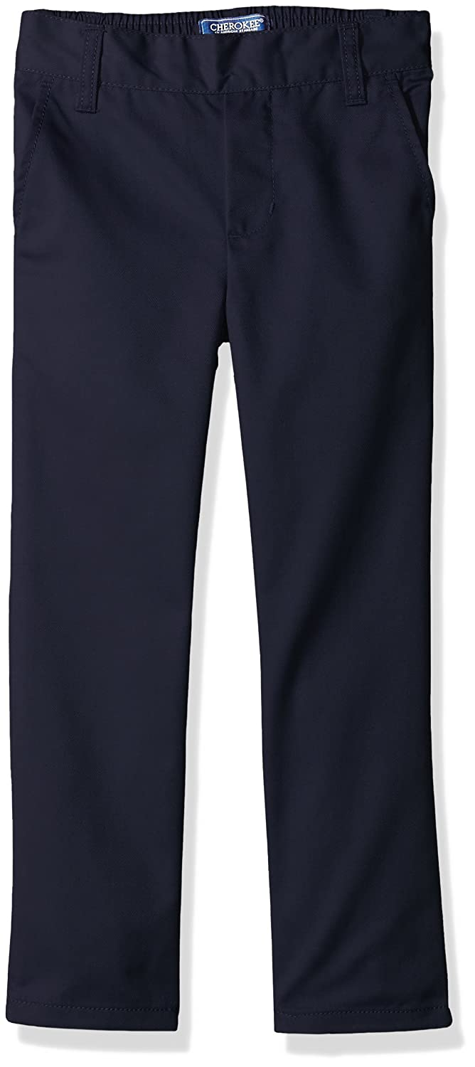 Cherokee Boys' Uniform Relaxed fit Twill Pull On Pant