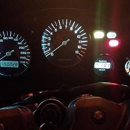 Pack of 10 KaTur T5 70 73 74 79 85 86 206 406 LED Bulbs 5050 1SMD Amber 1W 12V Car Interior Instrument Cluster Gauge LED Lights Dashboard Signal LED Bulbs