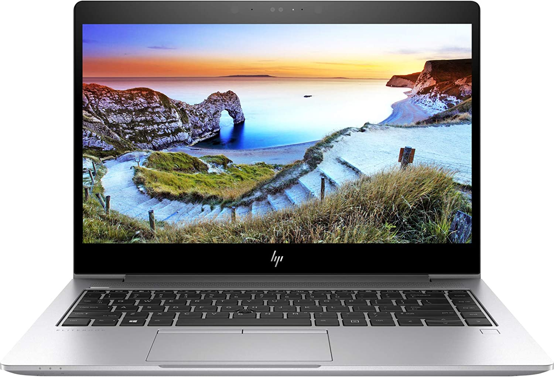 "2019 HP Elitebook 840 G5 14"" IPS Full HD FHD (1920x1080) Business Laptop (Intel Quad-Core i5-8250U, 8GB DDR4 RAM, 256GB PCIe NVMe M.2 SSD) Backlit, Type-C Thunderbolt, B&O Audio, HDMI, Windows 10 Pro"