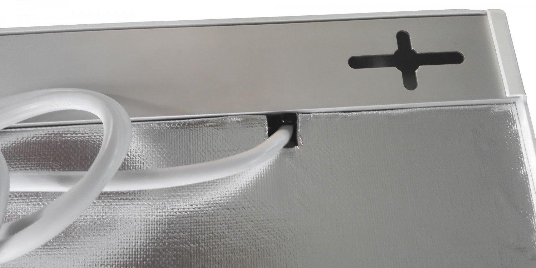 Viesta H600 Infrarotheizung Carbon Crystal neueste Technologie Heizpaneel Heizk/örper Heizung Heating Panel ultraflache Wandheizung Wei/ß 600 Watt TH12 Thermostat