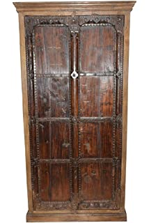 Delicieux Mogul Interior Armoire Storage Warbdrobe Reclaimed Antique Vintage Patina  Indian Furniture Spanish Moroccan Design Interiors