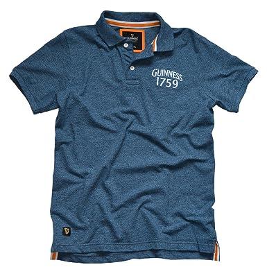 242ae53ab Guinness 1759 Crest Blue Short Sleeve Polo Shirt at Amazon Men s ...