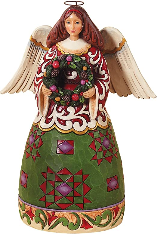 Jim Shore CHRISTMAS ANGEL PRAYING Figurine Heartwood Creek Enesco 4027782