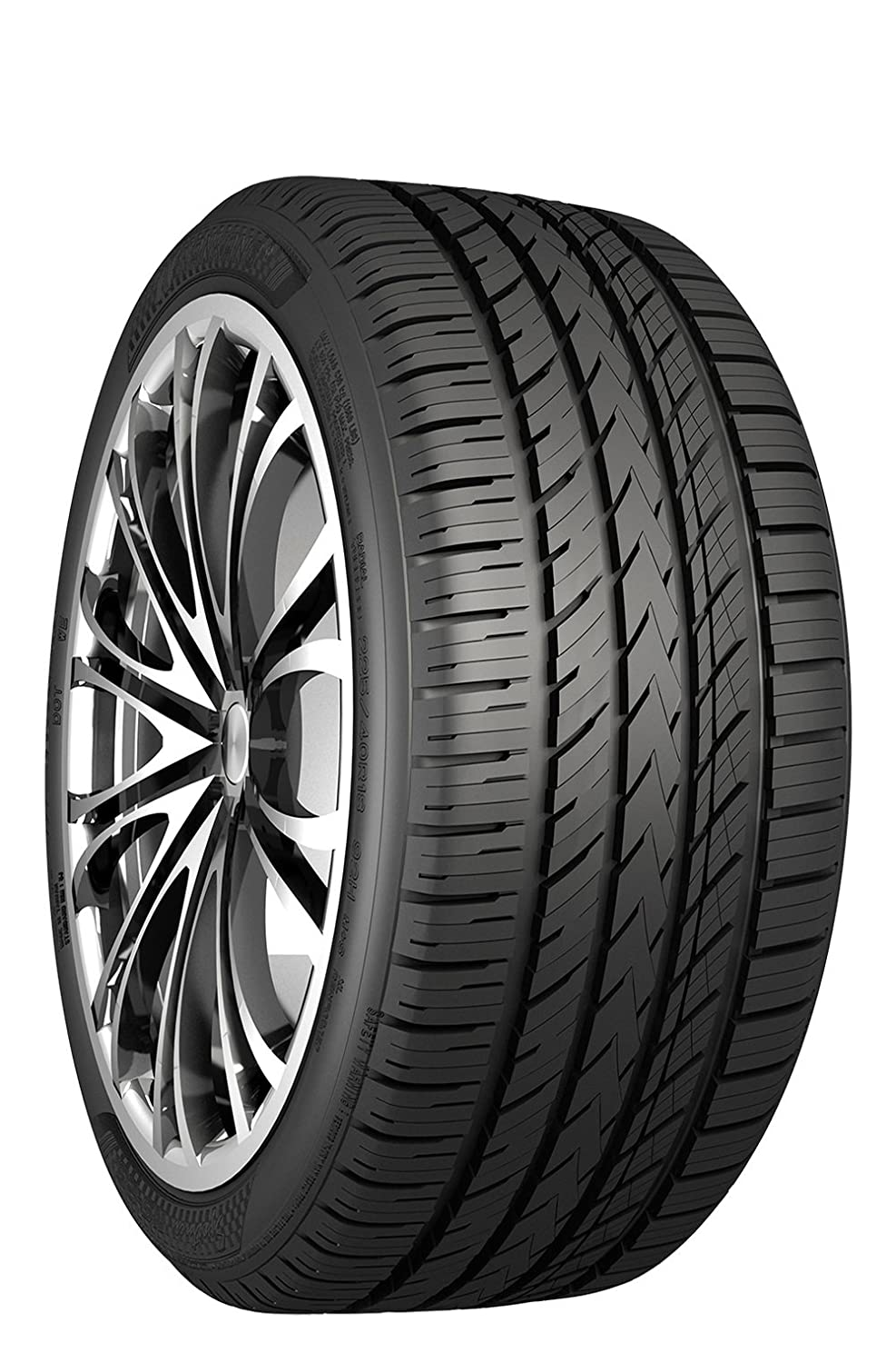 Nankang NS-25 All-Season UHP Performance Radial Tire - 225/35R18 87H 24050006