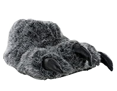 59e1a89d8b5 Boys And Mens Monster Claw Yetti Foot Novelty Warm Fluffy Slippers Size UK  1-12