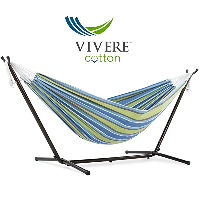 Vivere Double Cotton Hammock – Best Foldable Hammock