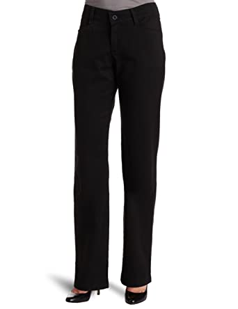 5b7bfdde5a3f0 LEE Women s Relaxed Fit Plain Front Straight Leg Pant at Amazon ...