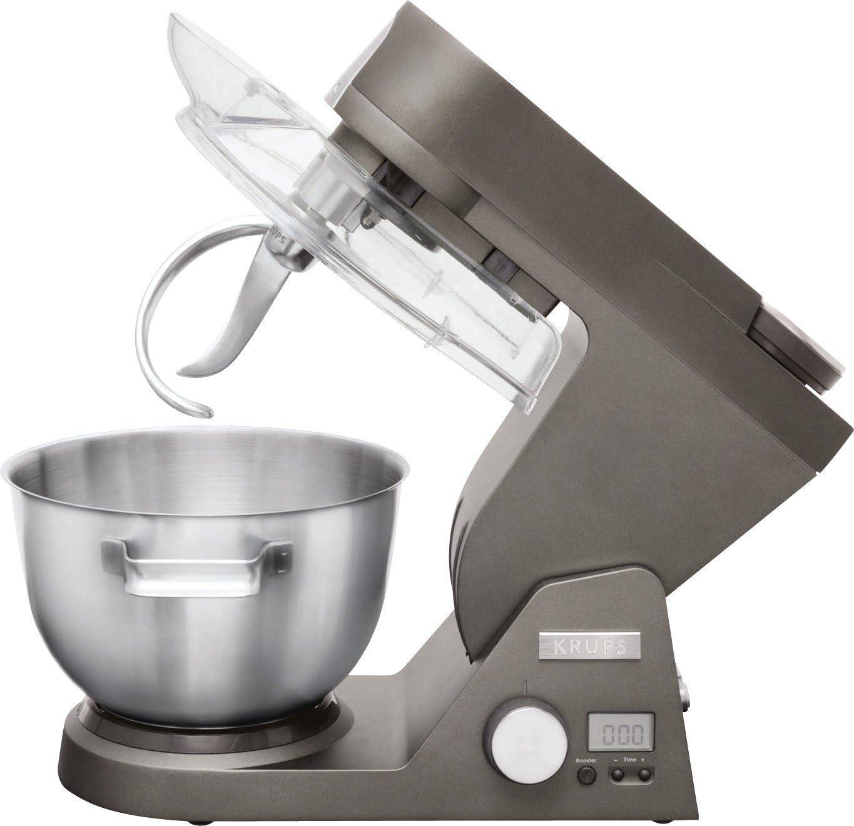 Krups KA990 - Robot de cocina (5 L, Titanio, Acero inoxidable, Aluminio, Acero inoxidable, 1200 W): Amazon.es: Hogar