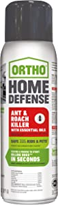Ortho Home Defense Ant & Roach Killer with Essential Oils Aerosol 14 OZ