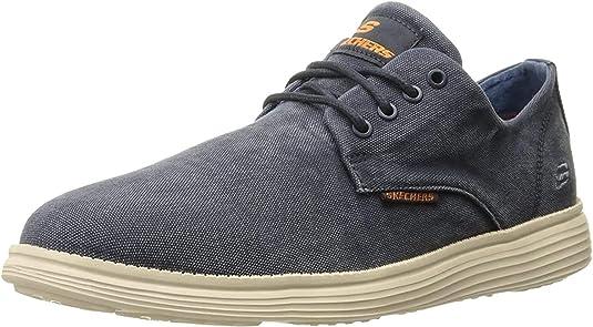 Skechers Herren Status Borges Sneakers, Schwarz: QzCkx