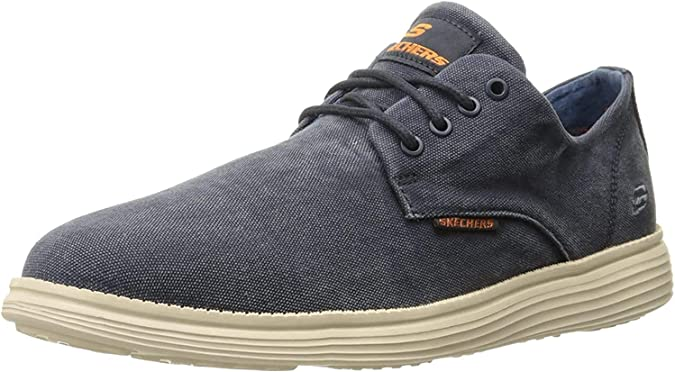Skechers Herren Status 2.0 Pexton Sneaker, schwarz: Amazon