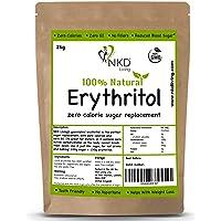 Eritritol 100 % natural 2 kg   Granulado sustituto del azúcar con cero calorías …