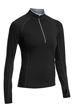 Icebreaker Zone Women's Half-Zip Running Top - SS16 at Amazon Women's  Clothing store: